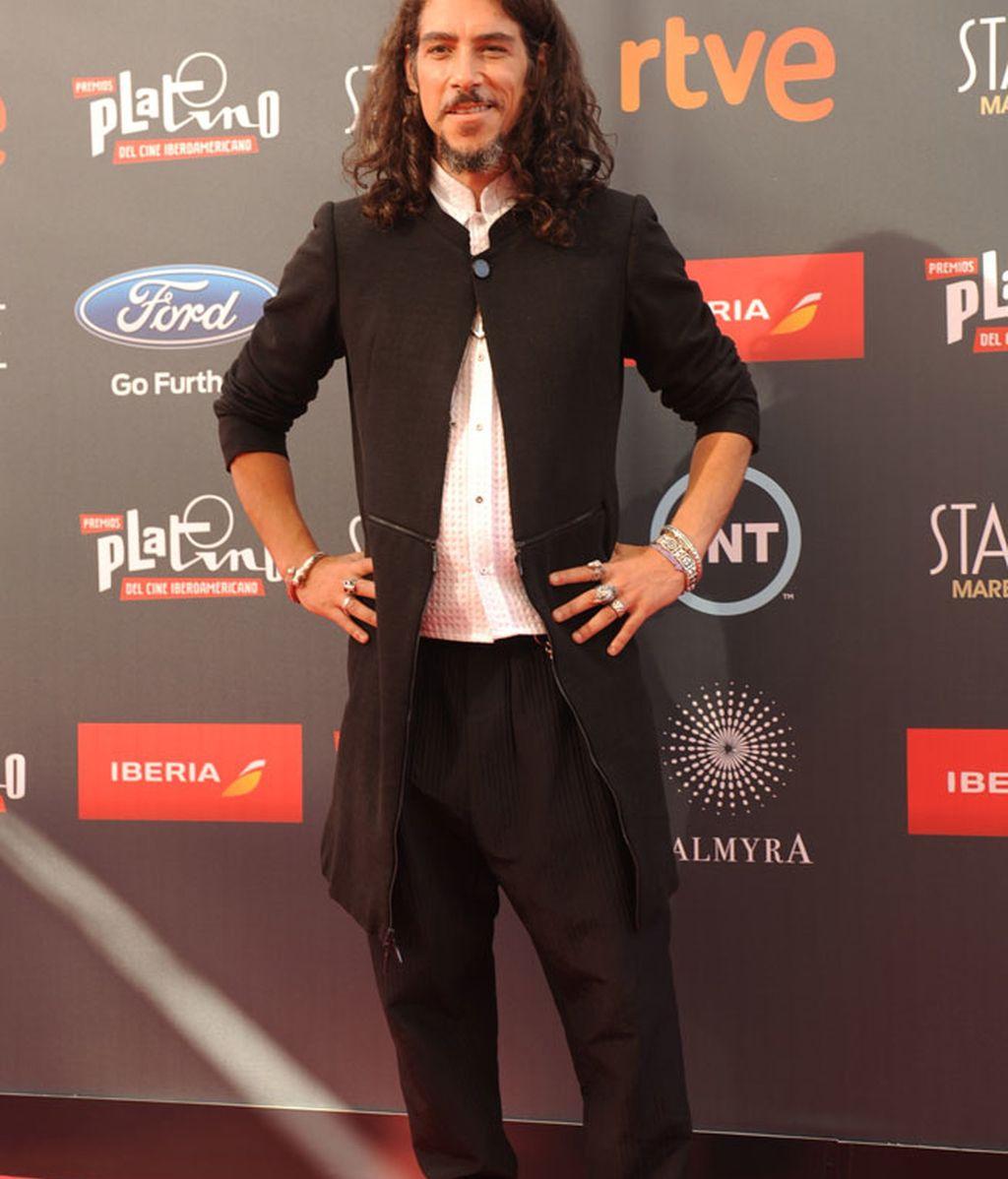 El actor Óscar Jaenada