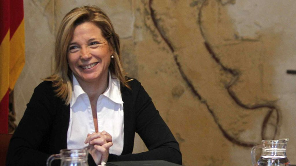 Joana Ortega, vicepresidenta de la Generalitat