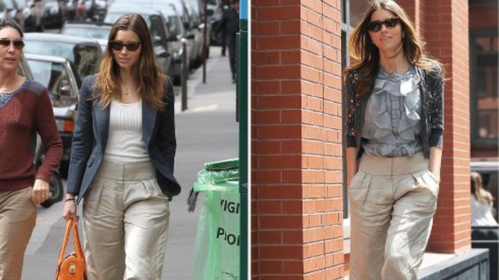 Jessica Biel: así se llevan los pantalones
