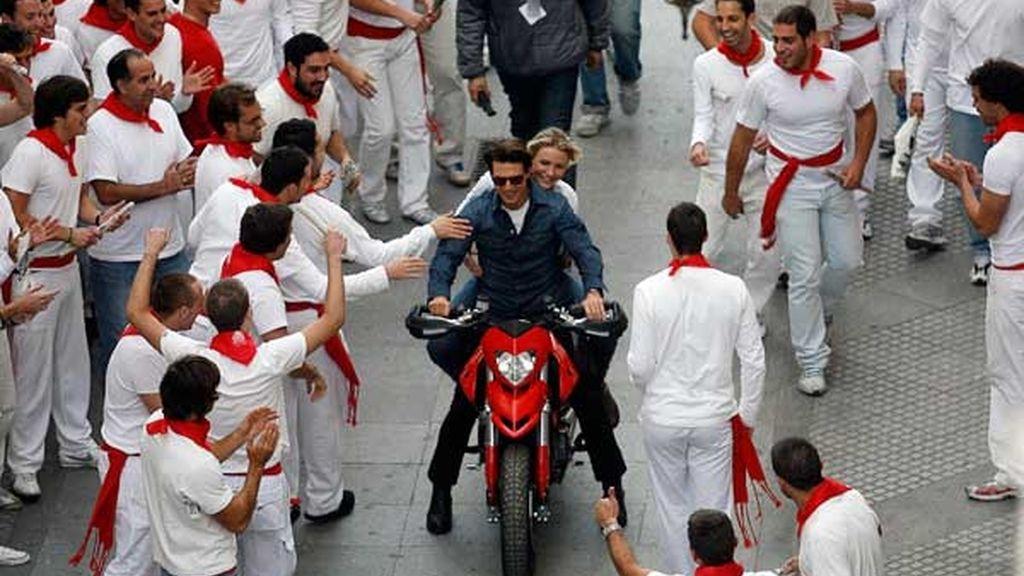 Tom Cruise y Cameron Díaz enamoran en Cádiz
