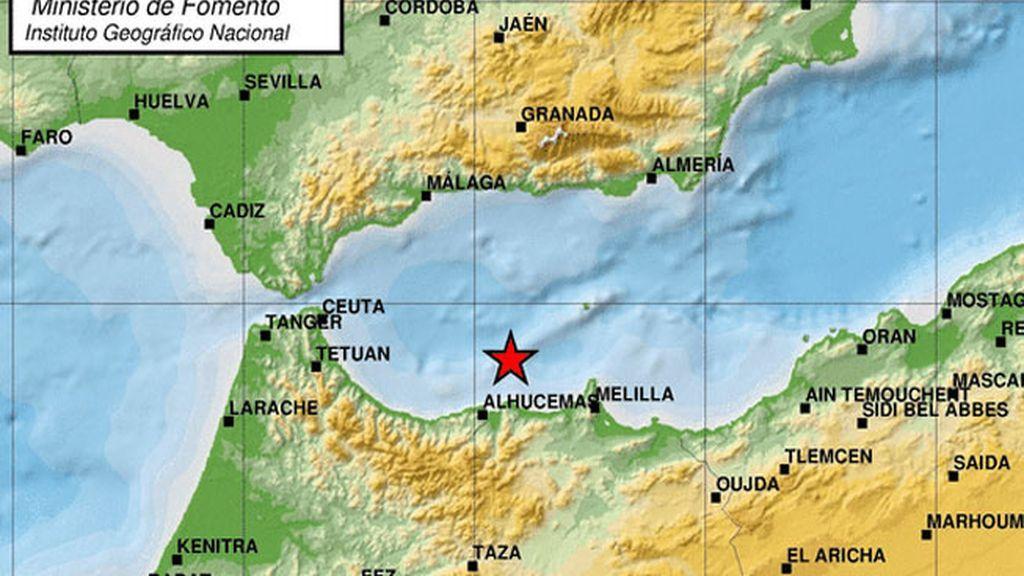 Registrados dos terremotos de 4,8 y 4,6, que se dejan sentir en Málaga