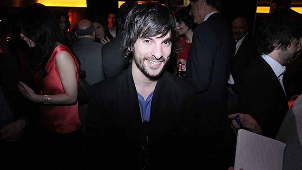 """El director Mikel Rueda, que presenta en el festival la película """"A escondidas"""""""