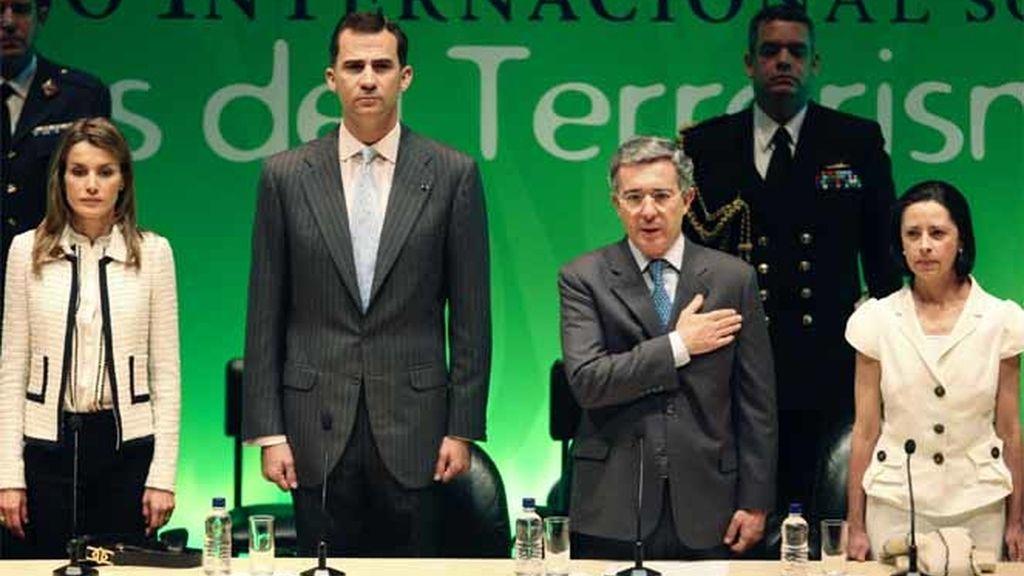 Los Príncipes de Asturias en Colombia
