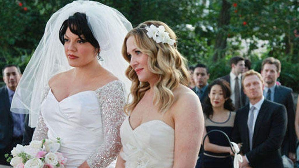 Callie y Arizona, declaradas mujer y mujer
