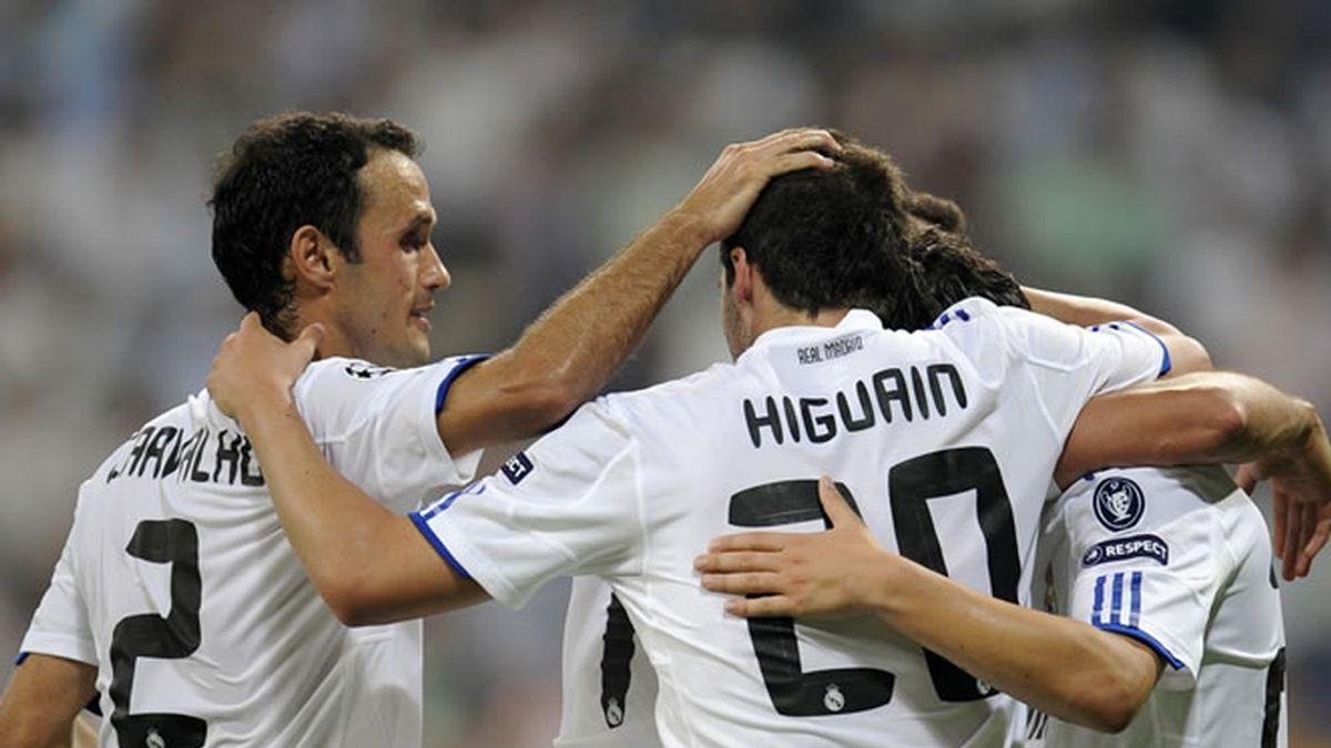 El Madrid convence frente al Ajax