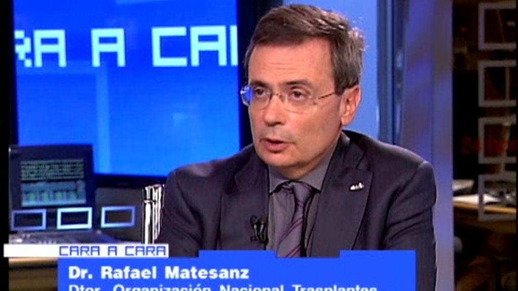 Cara a cara con el Dr. Rafael Matesanz