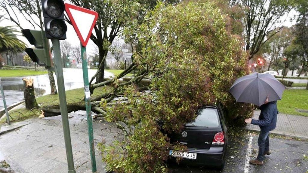 La ciclogénesis golpea a Galicia