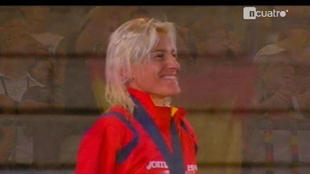 Marta Dominguez, campeona del mundo