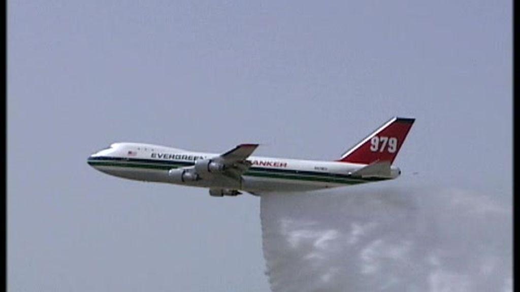 El avión bombero más grande del planeta