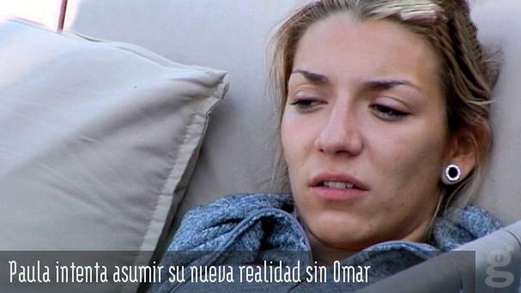 Paula intenta asumir su nueva realidad sin Omar