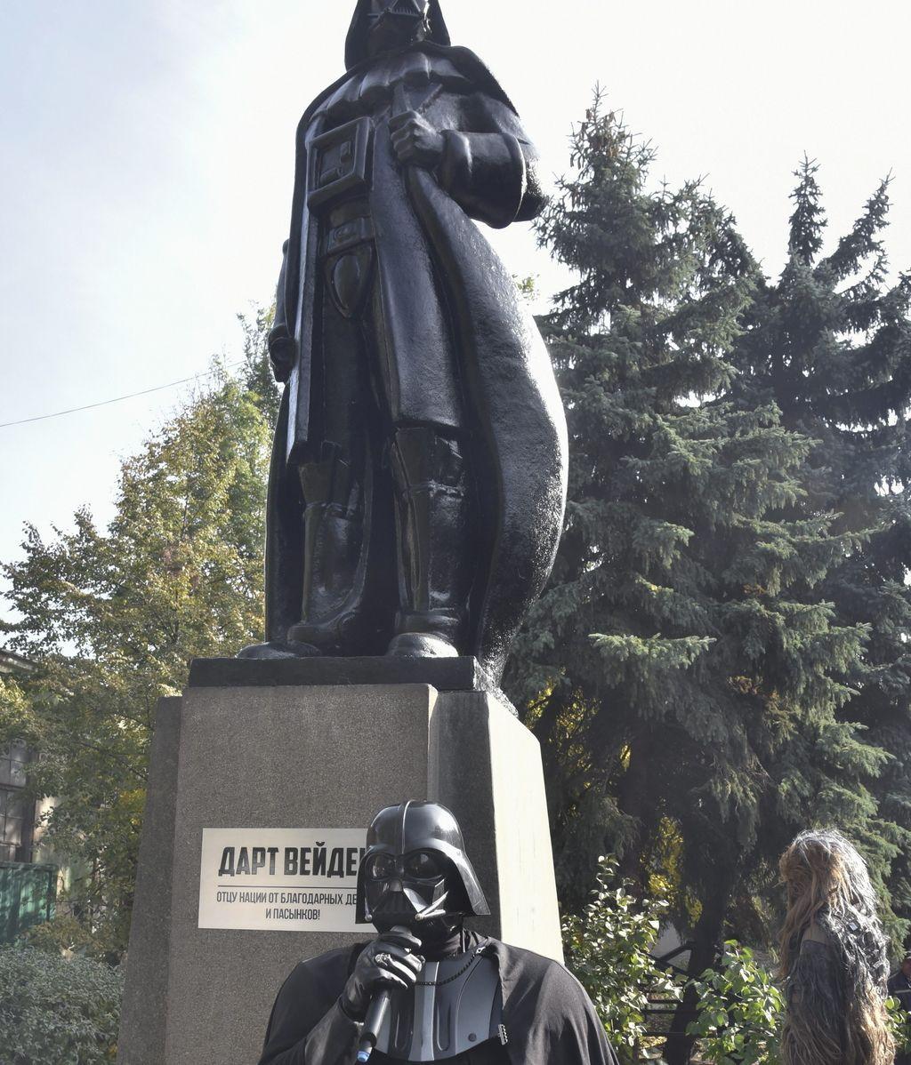 Darth Vader destrona a Lenin