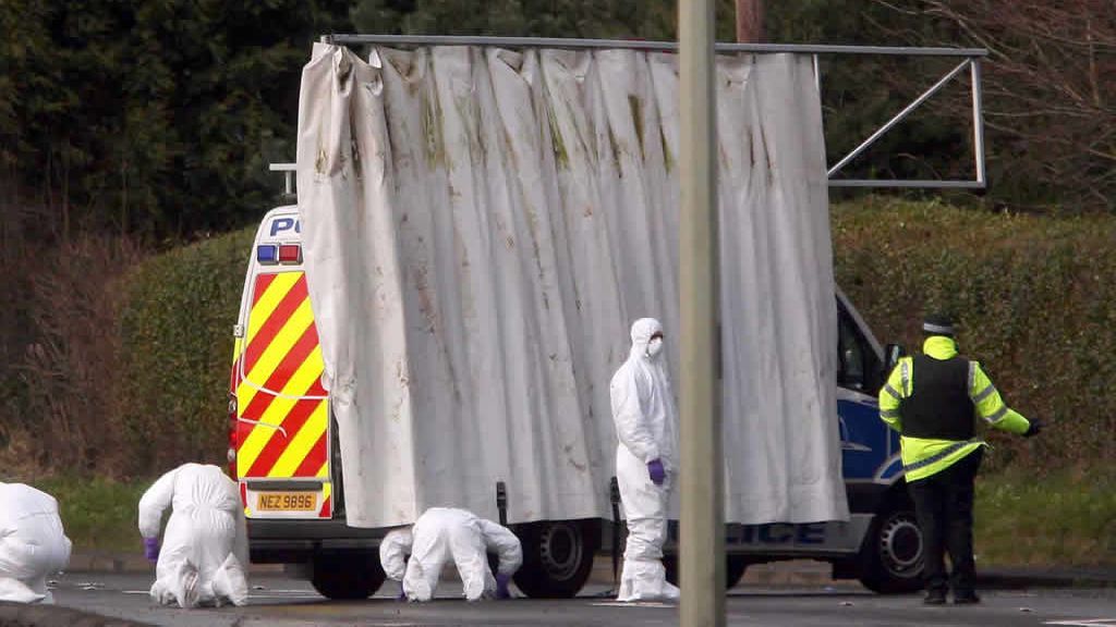Atentado en Belfast