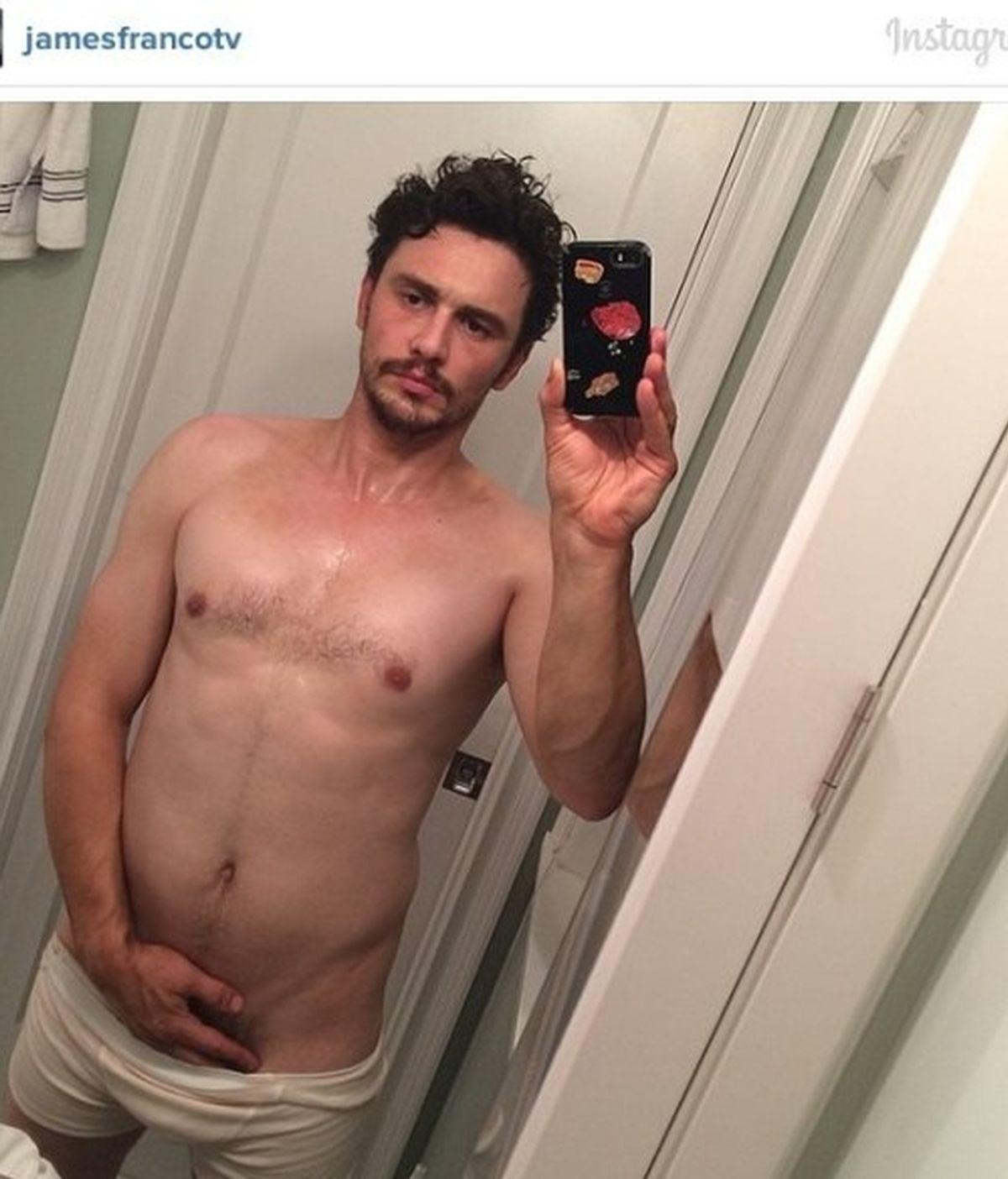 A James Franco se le va de las manos la moda del 'sefie'