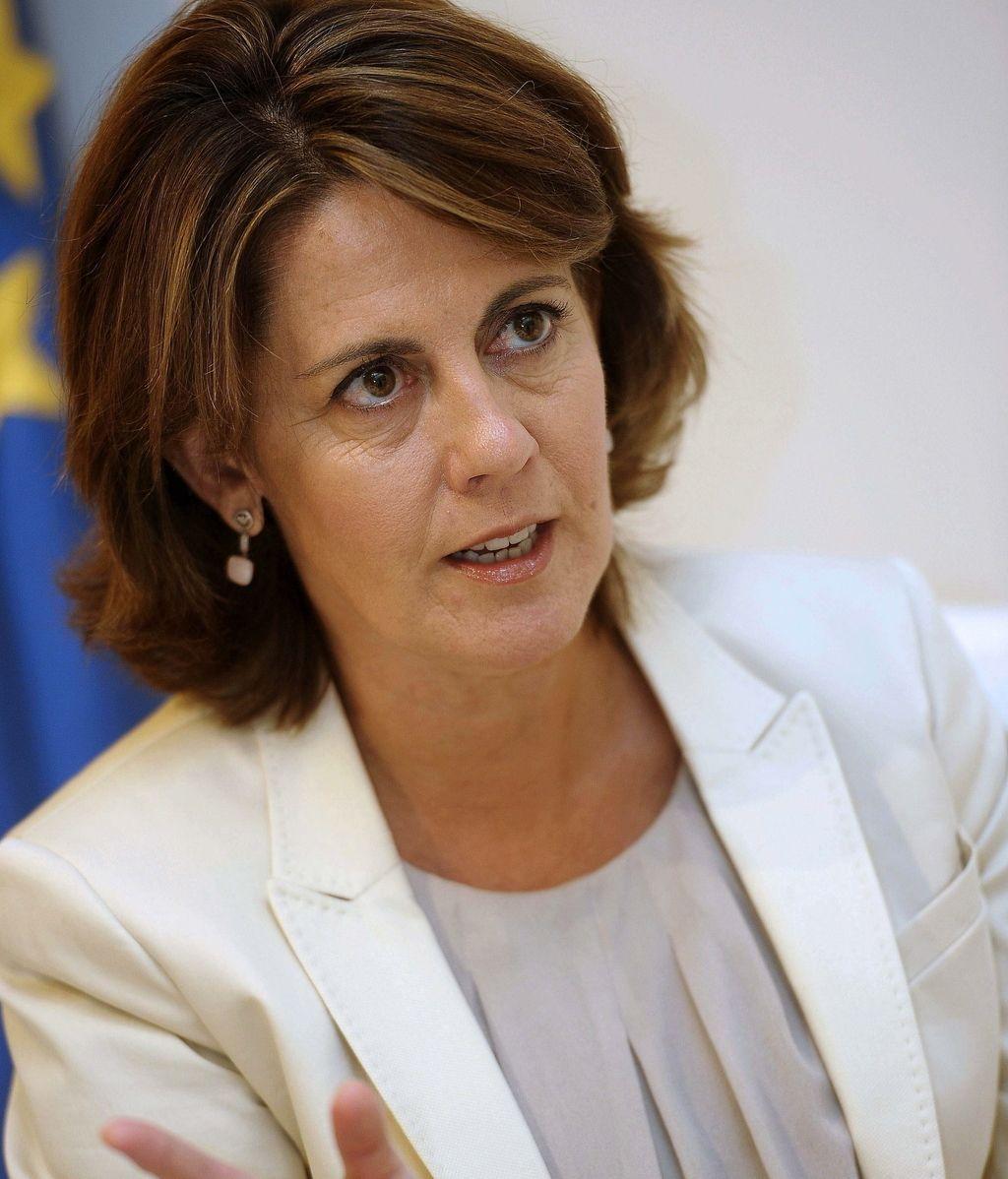 Yolanda Barcina. foto: EFE