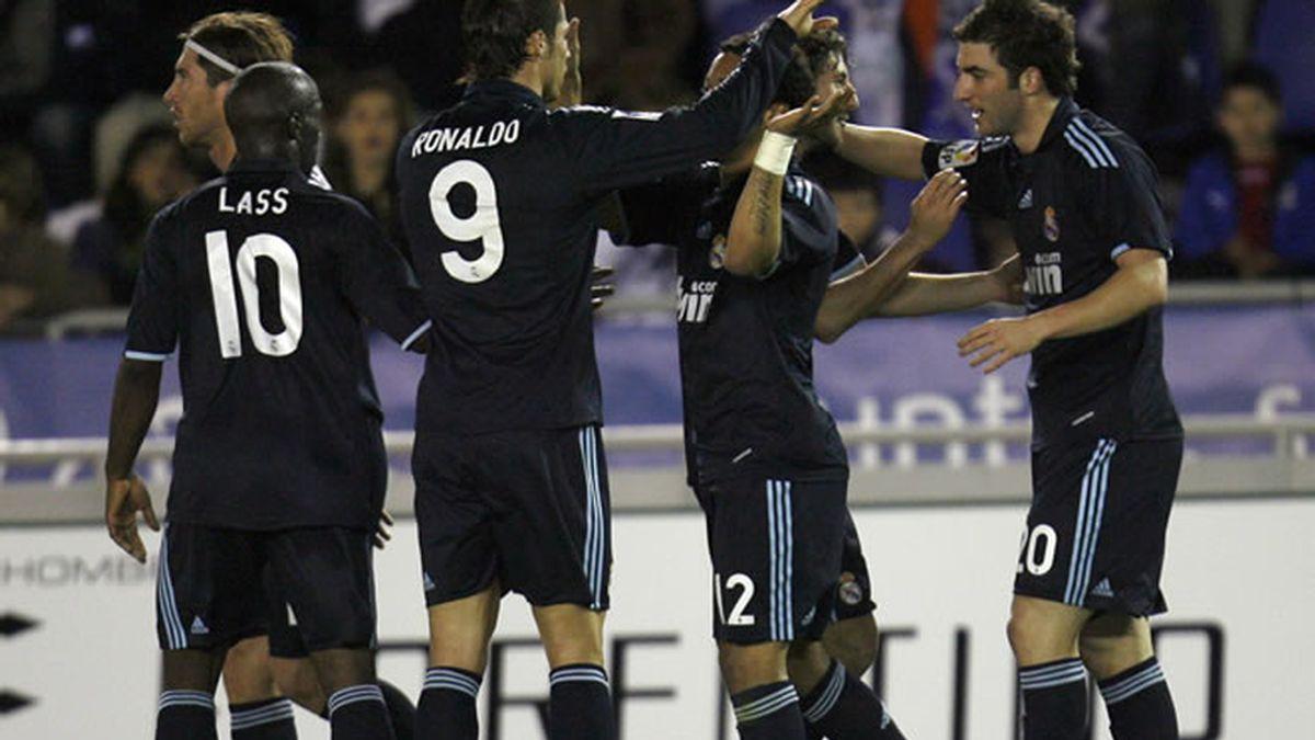 El Real Madrid suma tres nuevos e importantes puntos