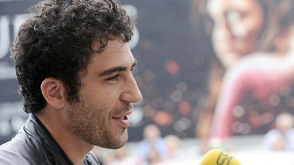 Miguel Ángel Silvestre en San Sebastián