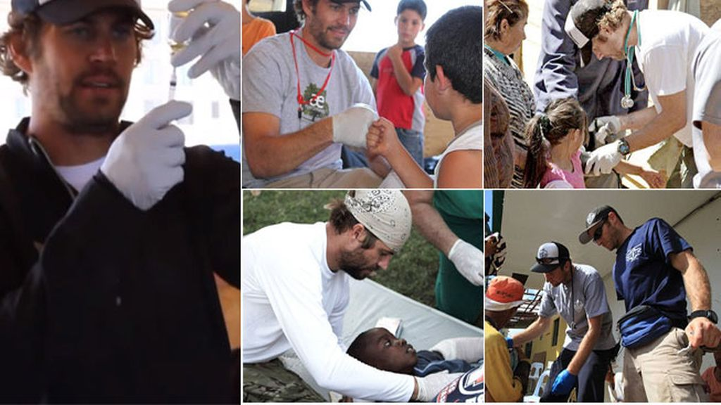 El lado humanitario de Paul Walker