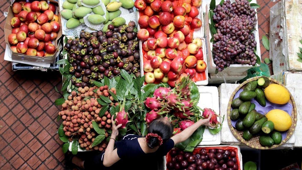 Caer el producto interior bruto de Vietnam