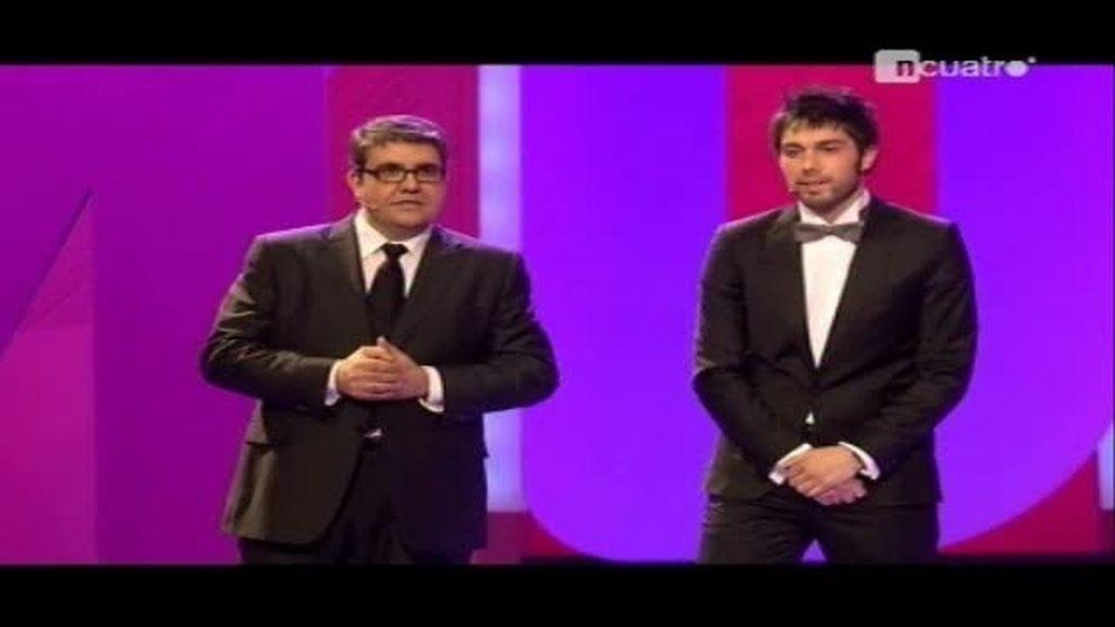 Los chicos de Tonterías las justas en los Premios Ondas