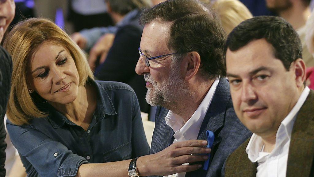 Mariano Rajoy, Mº Dolores Cospedal, Juan Manuel Moreno Bonilla