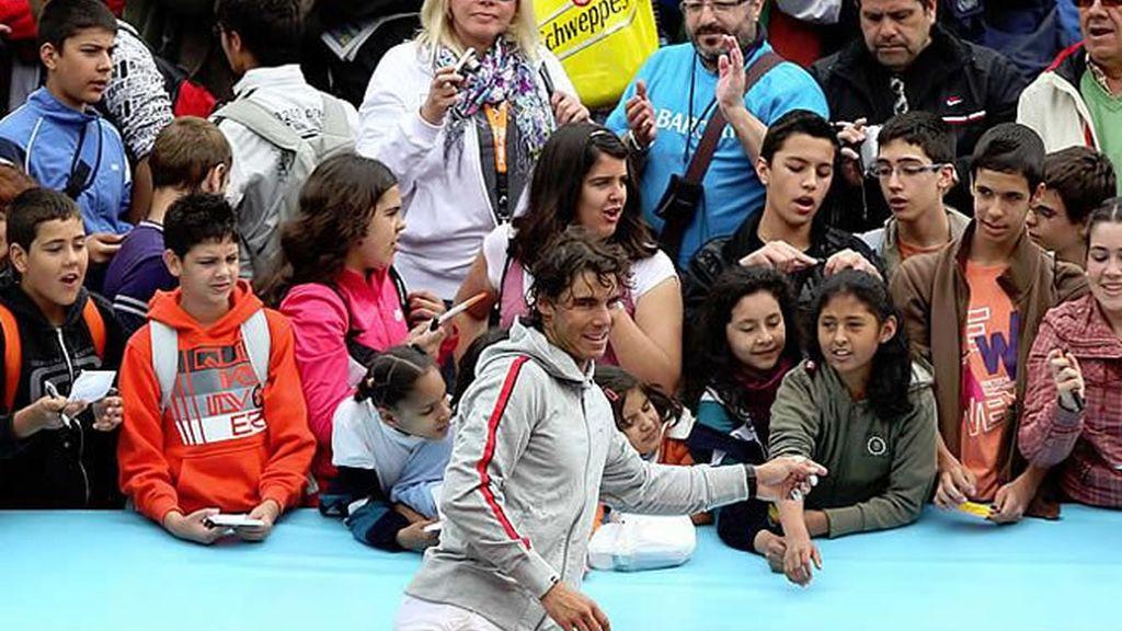 En San Isidro 2010, Madrid tiene un ídolo: Rafa Nadal.