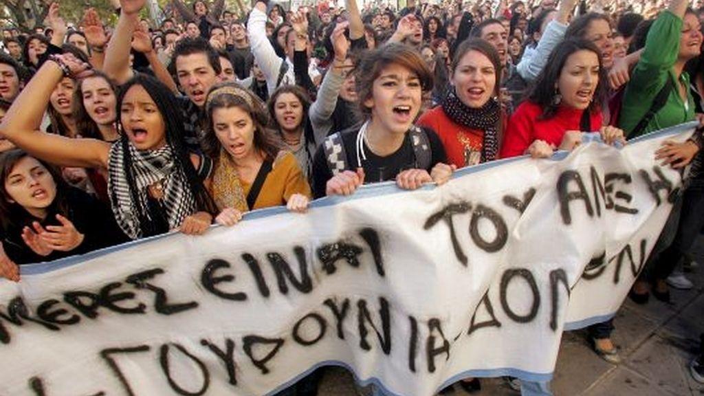 PROTESTAS DE LOS ESTUDIANTES