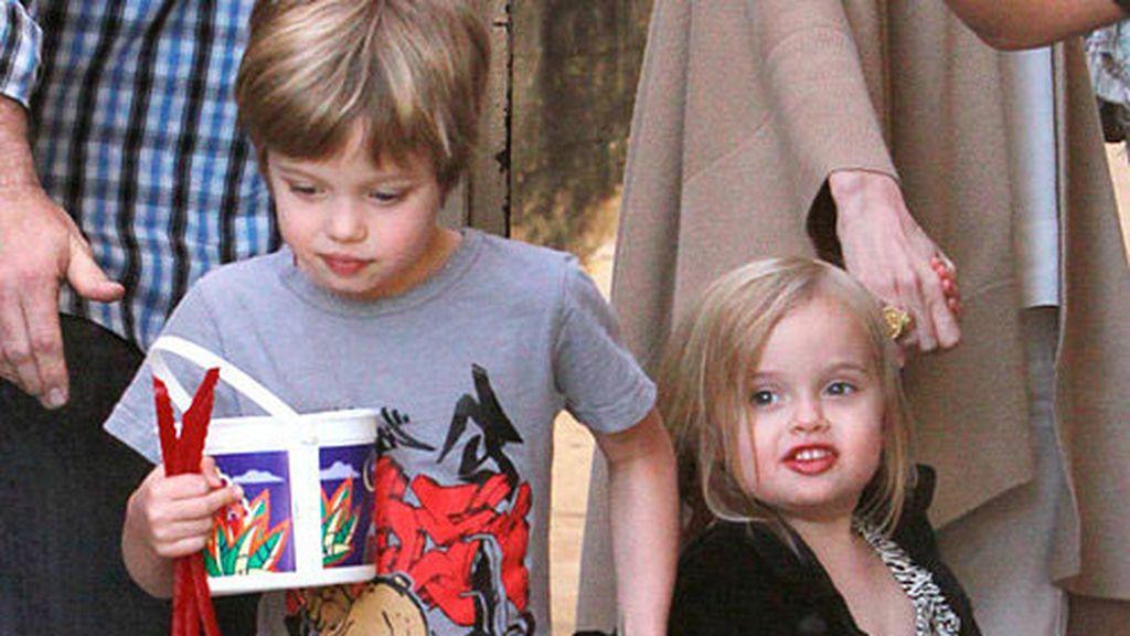 Las hijas de los Pitt-Jolie