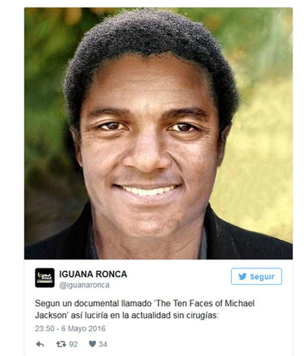 Así habría sido Michael Jackson sin cirugías ni blanqueo de piel