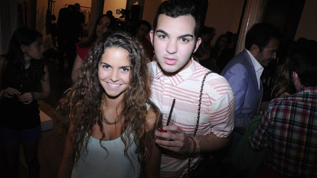 María Deniz y Raúl Muñoz Arriaga