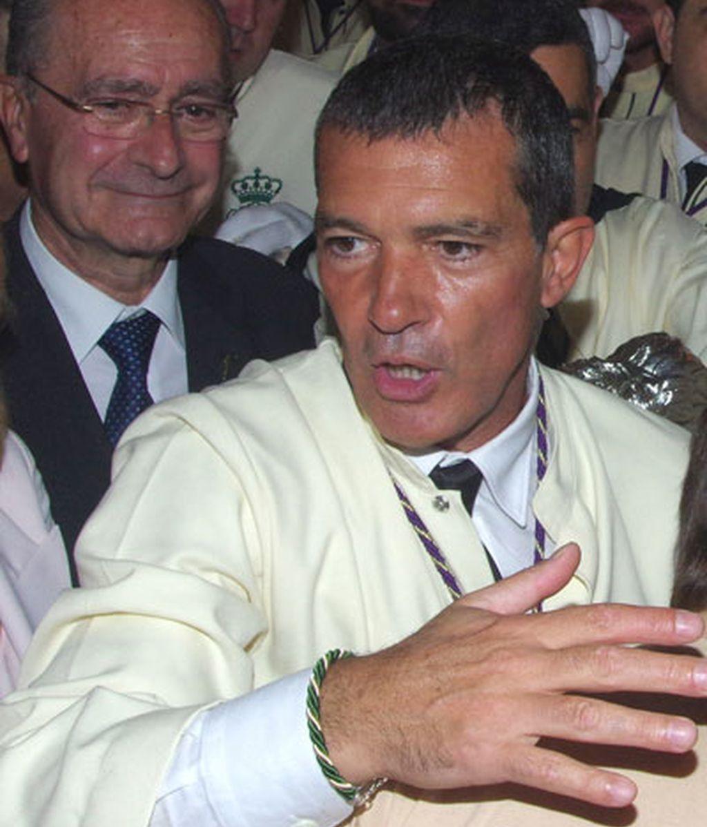 Antonio Banderas vuelve cada año para vivir la Semana Santa