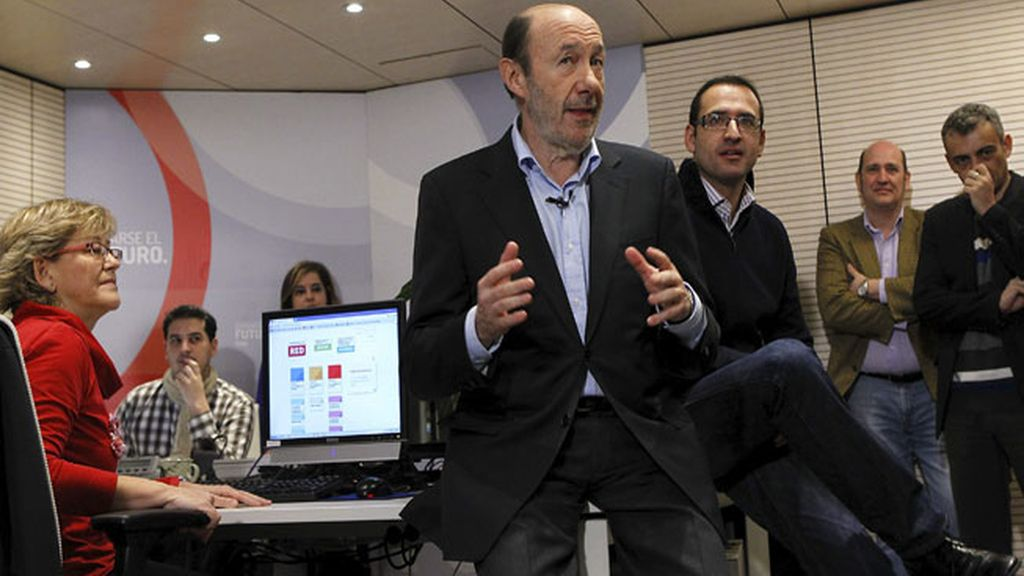 Rubalcaba presidirá el Comité Federal del PSOE