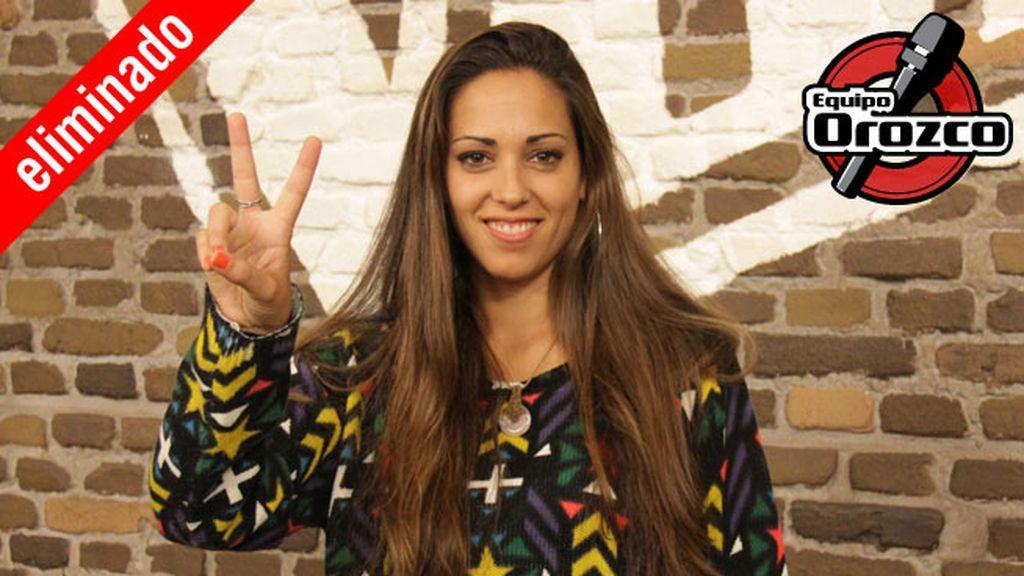 Andrea Beltrán, 26 años, equipo Orozco | Eliminada