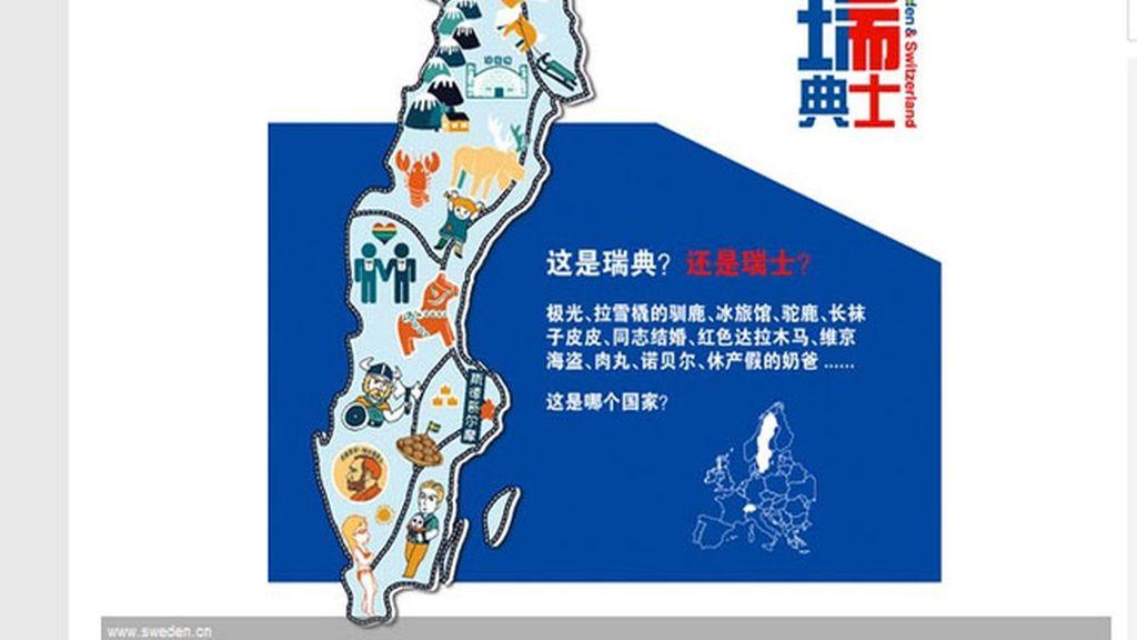 China distinguirá Suiza de Suecia gracias a un concurso