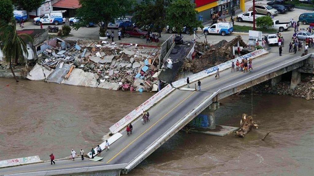 Estado de emergencia en México tras el paso de 'Ingrid' y 'Manuel'