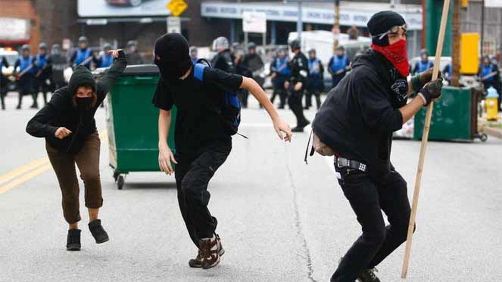 Protestas en el G-20