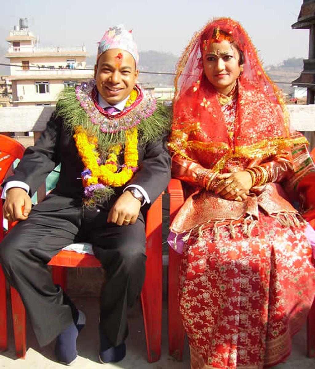 Jesús Calleja en la boda de Suresh