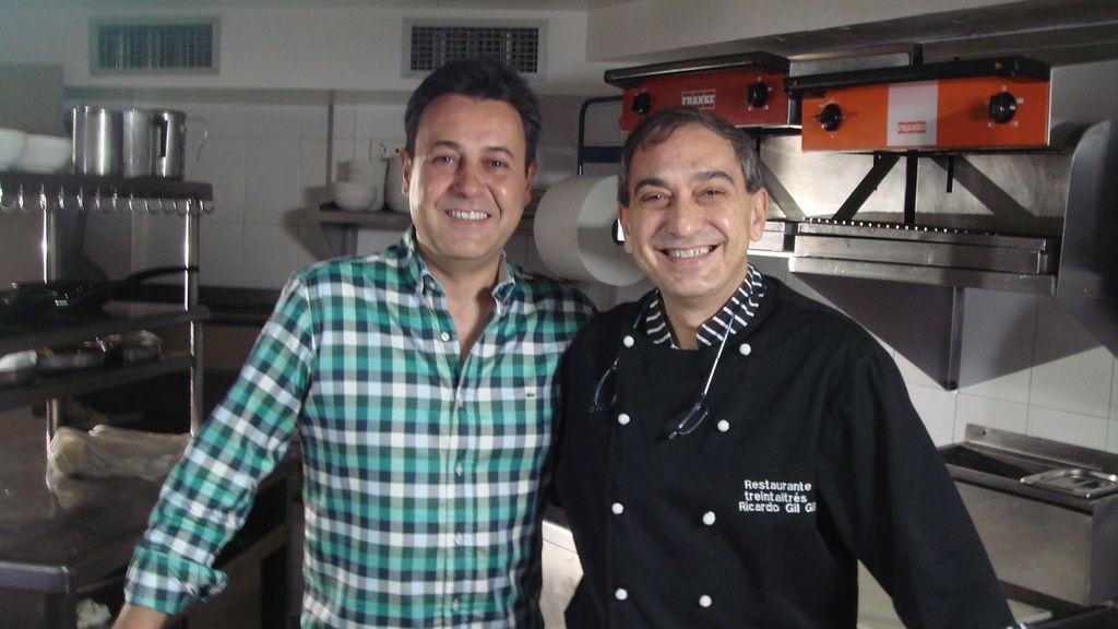 Ricardo Gil y José Ribagorda
