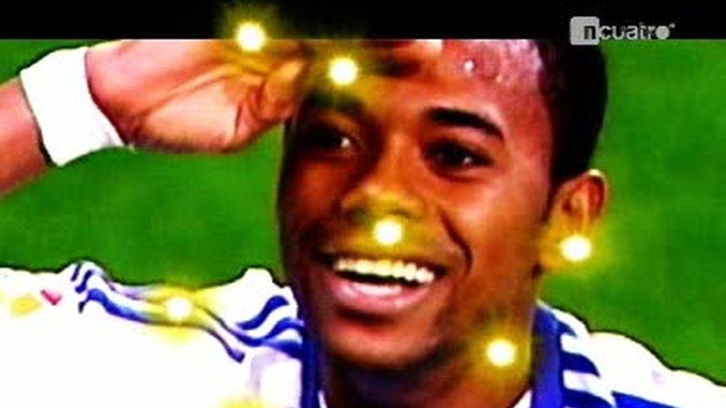 La magia de Robinho vuelve a España