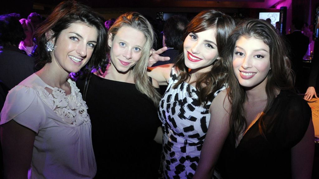 Lucinda Howells, Alexandra Leight, Andrea Duro y Erika Sánchez