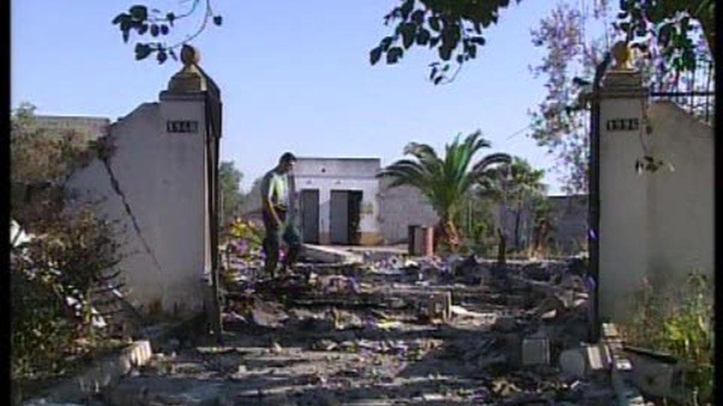 Explosión de una pirotécnica en Benacazón