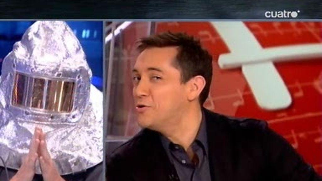 Pablo pregunta a Javier Ruiz por la gripe A que ha sufrido