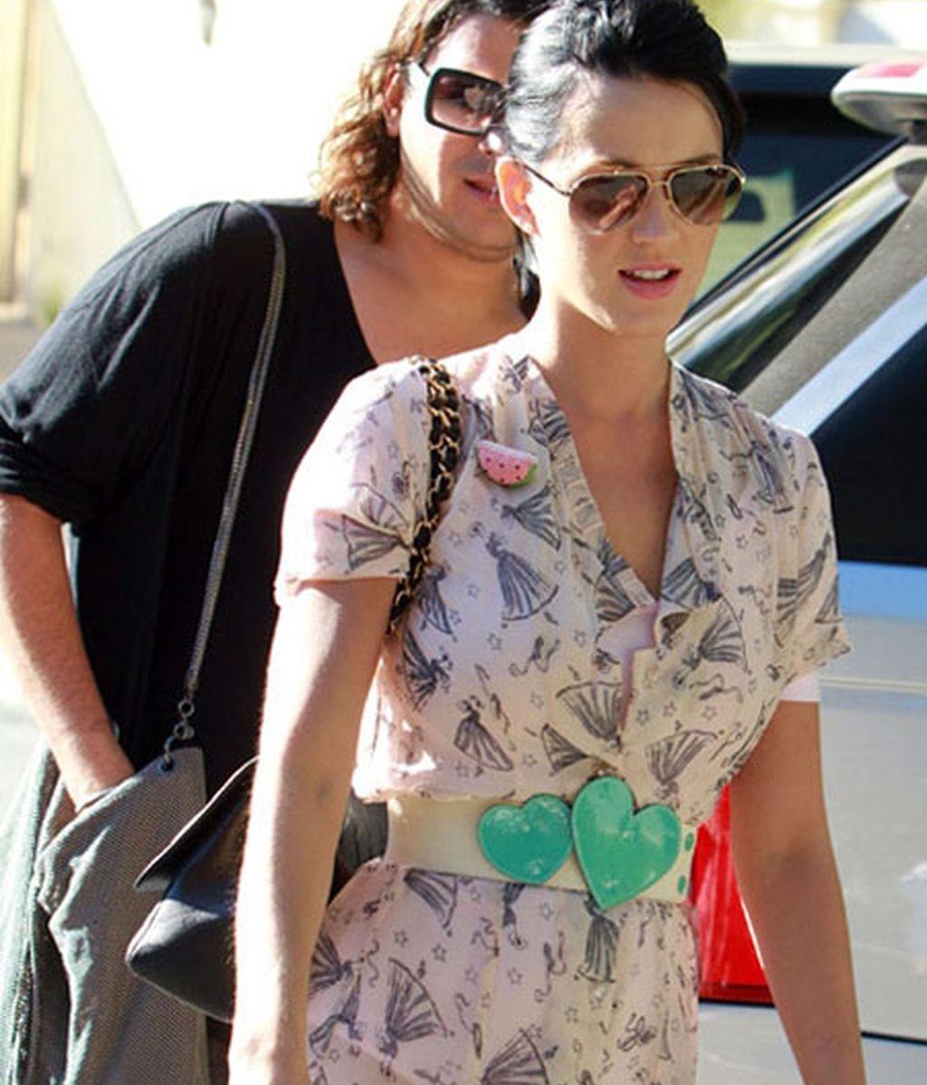 Nueva pareja: Katy Perry y Rusell Brand