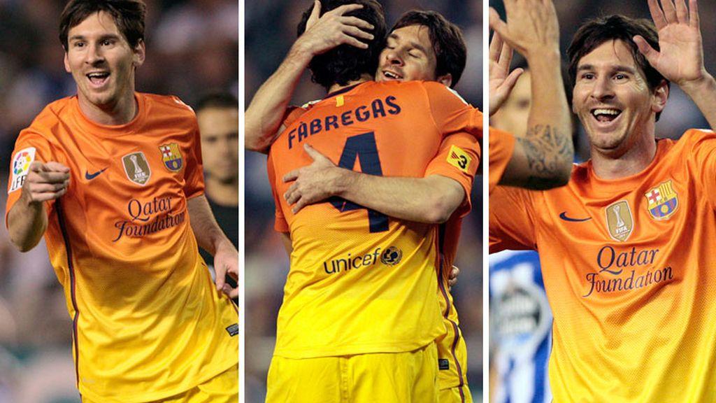 Messi, a horas de ser padre