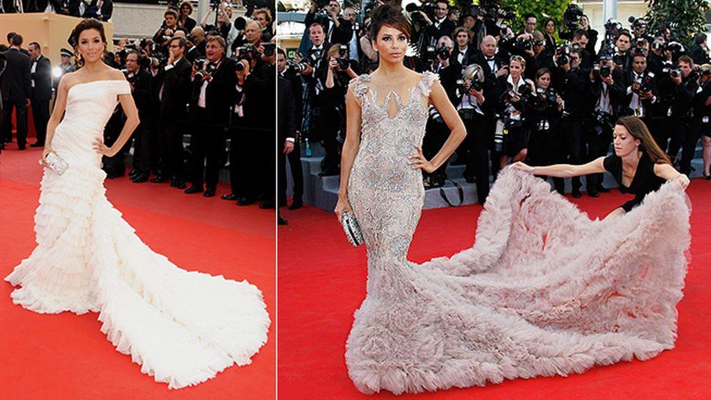 Eva Longoria de novia, sí o sí, en Cannes
