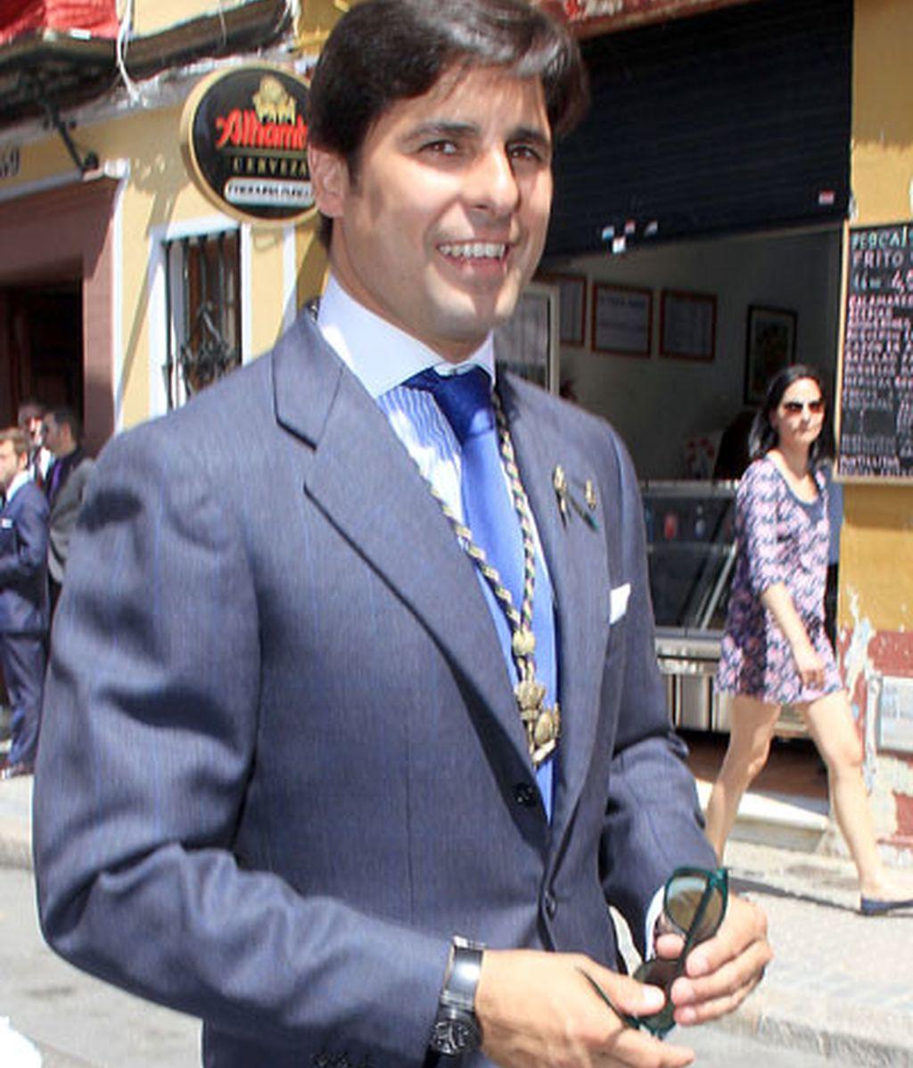 Fran Rivera, tradición cofrade