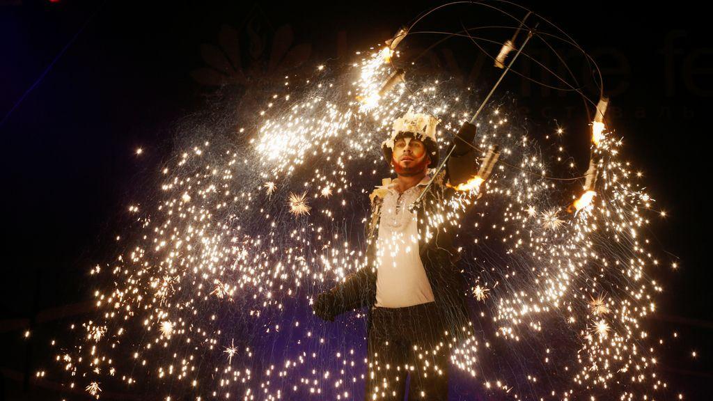 El festival del Fuego sorprende a todo el mundo