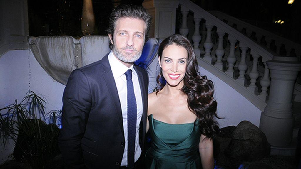 Jesús Olmedo y Nerea Garmendia, con vestido de Alberta Ferretti