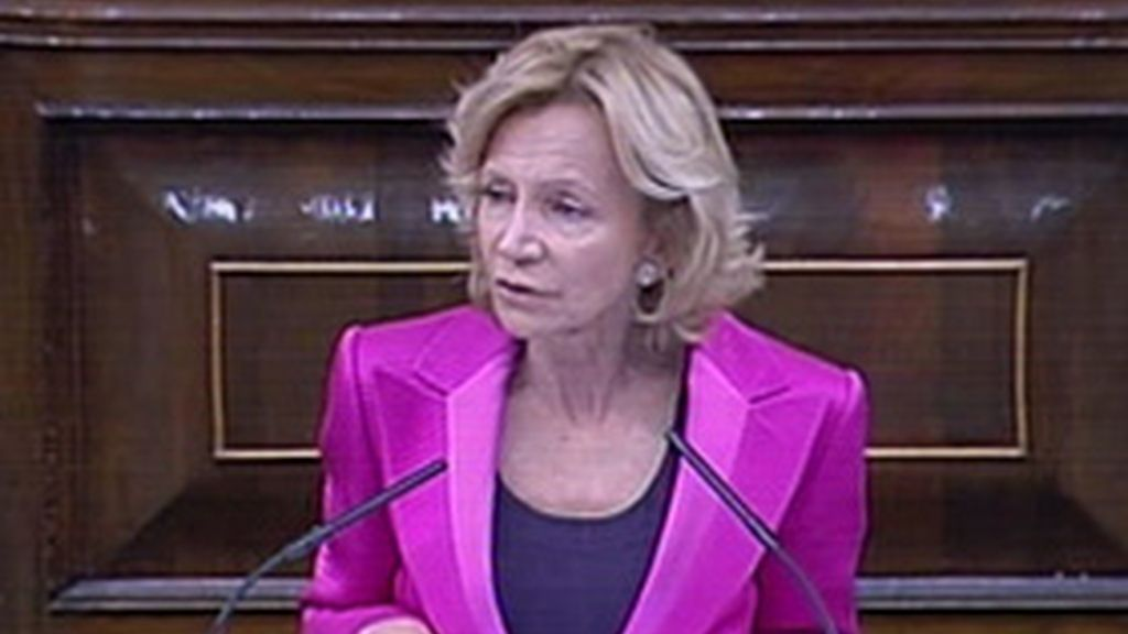 La ministra de Economía en el Congreso