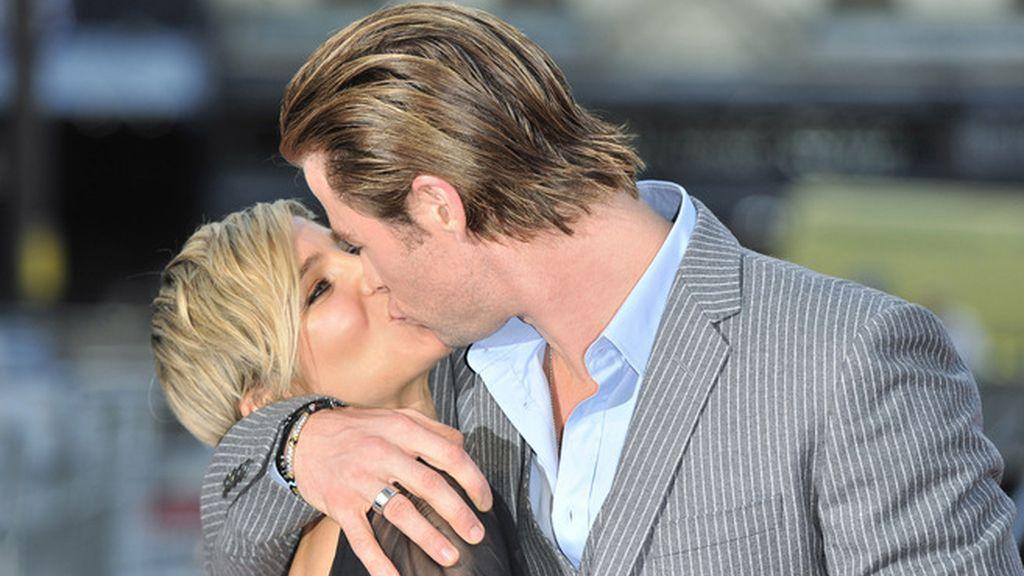 Elsa Pataky reemplaza a Portman en el beso más apasionado de 'Thor'