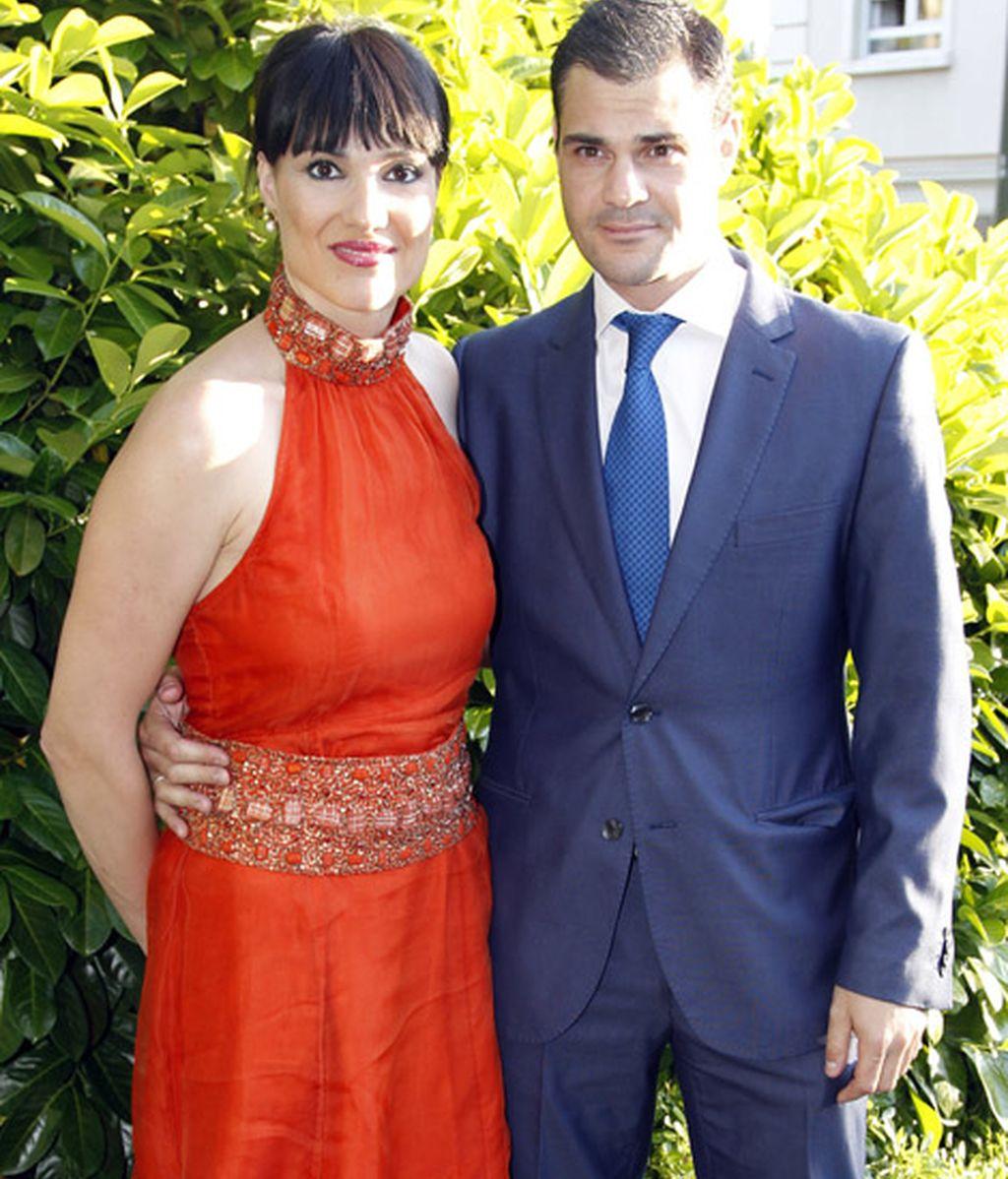 Irene Villa acudió con su marido